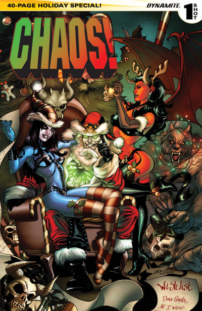 CHAOS! HOLIDAY SPECIAL (2014) #1 VF/NM ONE-SHOT COVER A DYNAMITE