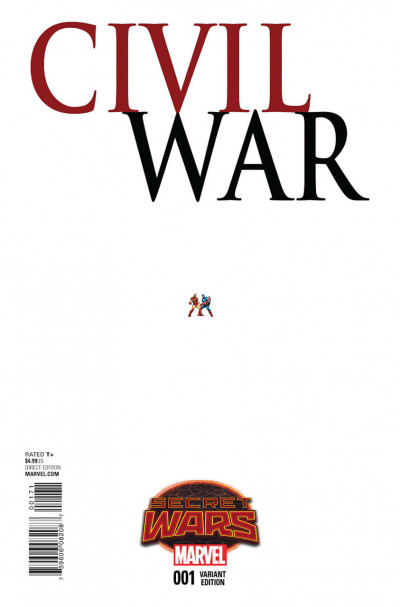 CIVIL WAR (2015) #1 VF/NM ANT SIZED VARIANT COVER SECRET WARS