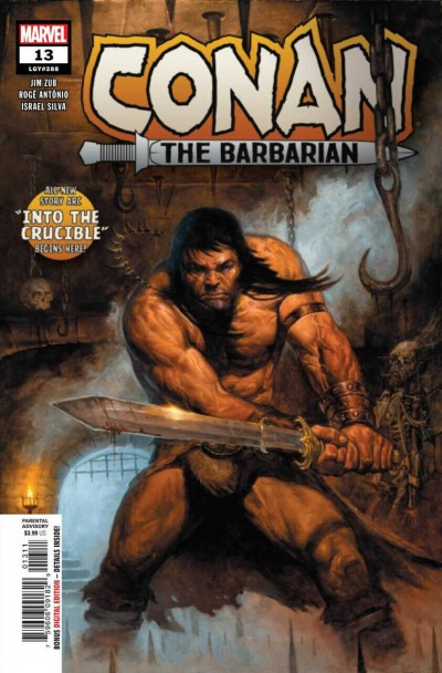 Conan the Barbarian (2019) #13 (#288) VF/NM E.M Gist Cover