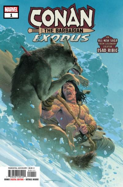 Conan the Barbarian: Exodus (2019) #1 VF/NM