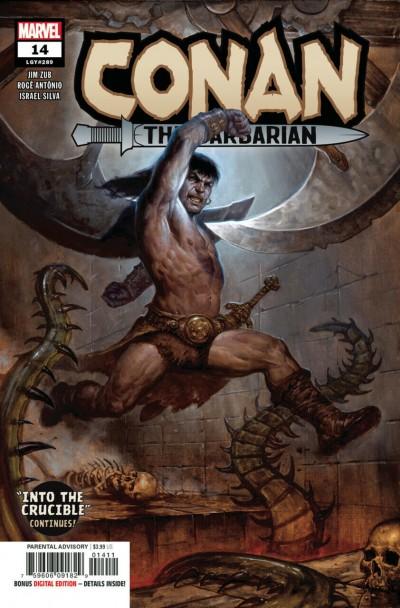 Conan The Barbarian (2019) #14 (LGY#289) NM (9.4) E.M Gist Regular Cover A