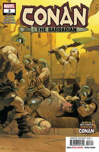 Conan the Barbarian (2019) #3 VF/NM Ribic Cover
