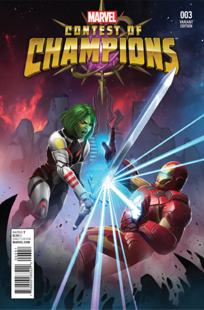 Contest of Champions (2015) #3 VF/NM Game Variant Cover