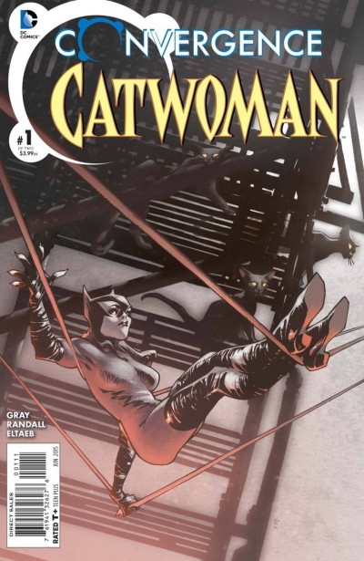 Convergence Catwoman (2015) #1 & 2 complete two part set pre DC Rebirth
