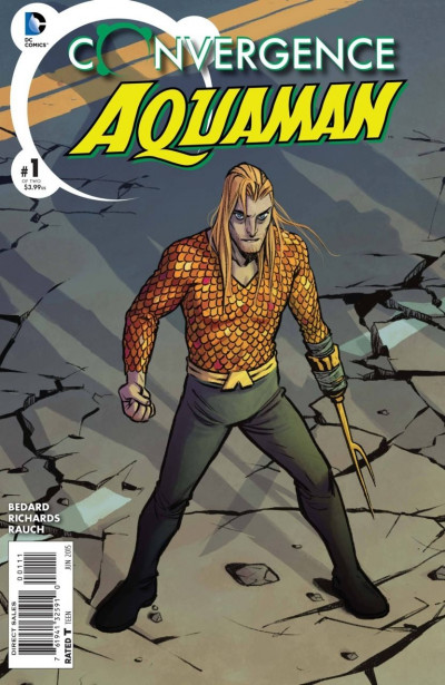 CONVERGENCE AQUAMAN (2015) #1 OF 2 VF/NM