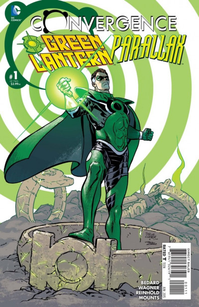 CONVERGENCE GREEN LANTERN/PARALLAX (2015) #1 OF 2 VF/NM