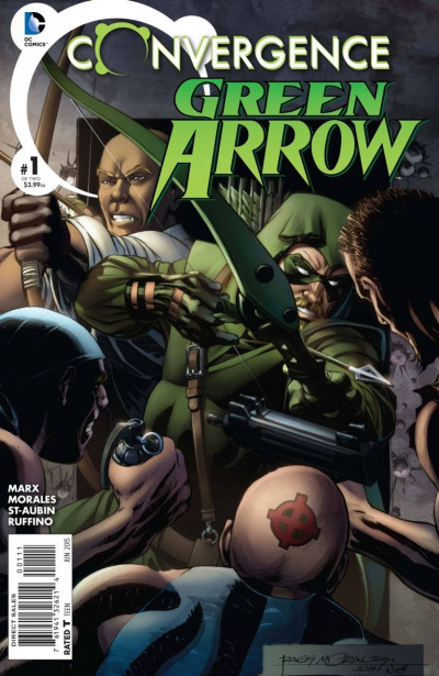 CONVERGENCE:GREEN AROW (2015) #1 OF 2 VF/NM