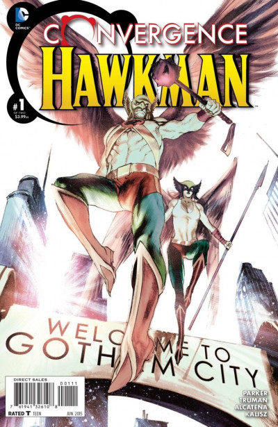 CONVERGENCE:HAWKMAN (2015) #1 OF 2 VF/NM