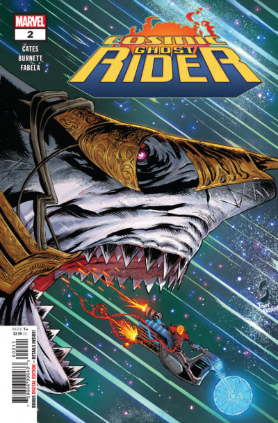 Cosmic Ghost Rider (2018) #2 VF/NM Geoff Shaw Cover Thanos