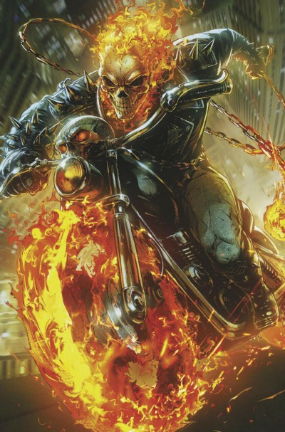 Cosmic Ghost Rider (2018) #4 VF/NM Marvel Battle Lines Variant Cover Ghost Rider