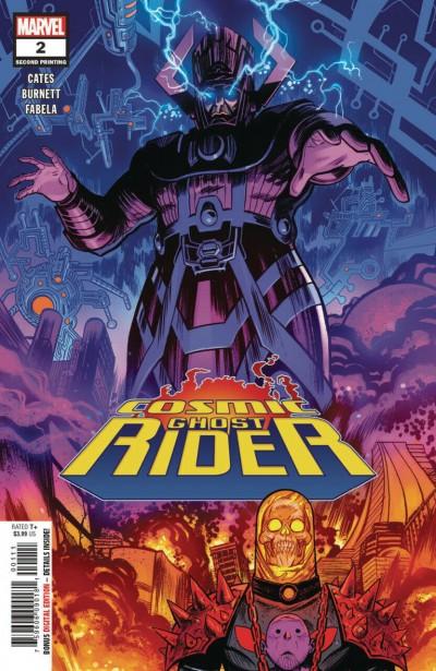 Cosmic Ghost Rider (2018) #2 VF/NM Dylan Burnett Second Printing Variant Cover
