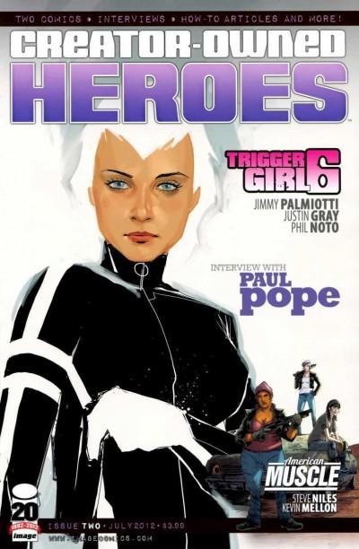 CREATOR OWNED HEROES #2 VF/NM TRIGGER GIRL 6 COVER B IMAGE COMICS