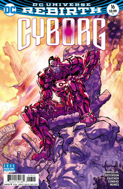 Cyborg (2016) #16 VF/NM Carlos D'Anda DC Universe Rebirth