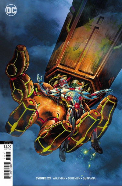 Cyborg (2016) #23 VF/NM Fabrizio Fiorentino Variant DC Universe