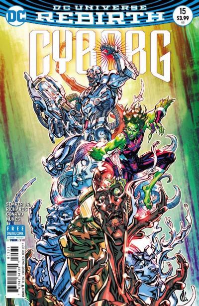 Cyborg (2016) #15 VF/NM Carlos D'Anda DC Universe Rebirth