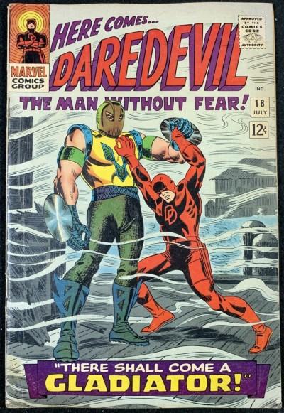 Daredevil (1964) #18 VG+ (4.5) 1st appearance Gladiator