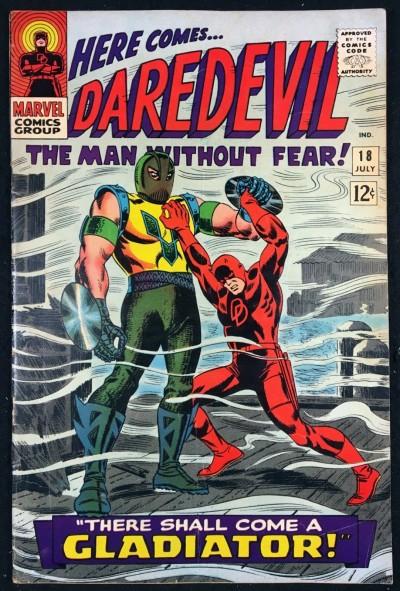 Daredevil (1964) #18 FN+ (6.5) 1st appearance Gladiator