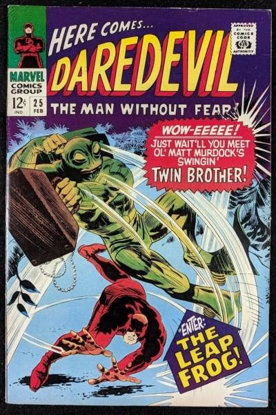 Daredevil (1964) #25 FN/VF (7.0) 1st app Mike Murdock