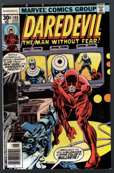 Daredevil (1964) #146 FN+ (6.5) vs Bullseye