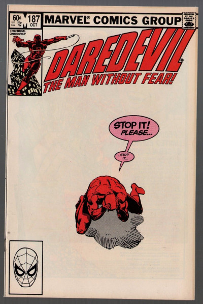 Daredevil (1964) #187 VF- (7.5) with Black Widow