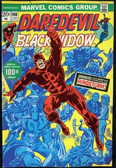 Daredevil (1964) #100 VF- (7.5)  with Black Widow