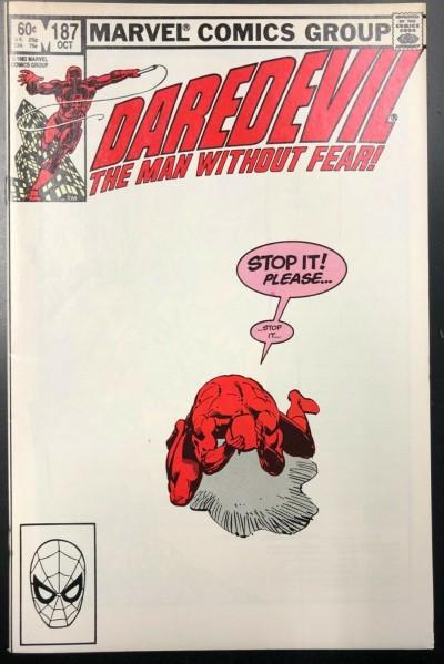 Daredevil (1964) #187 VF (8.0) Frank Miller