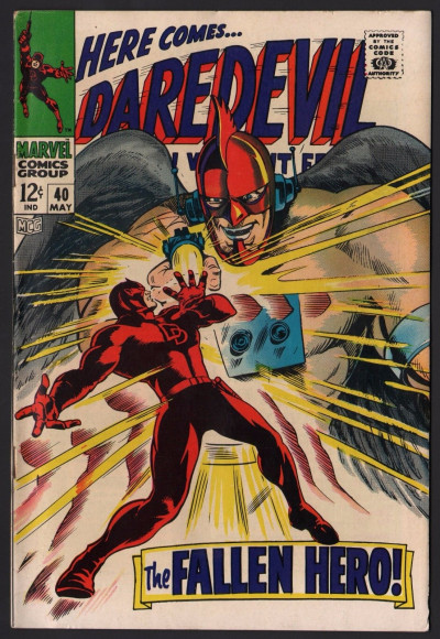Daredevil (1964) # 40 FN+ (6.5) vs The Organization Cat-Man Bird-Man Ape-Man