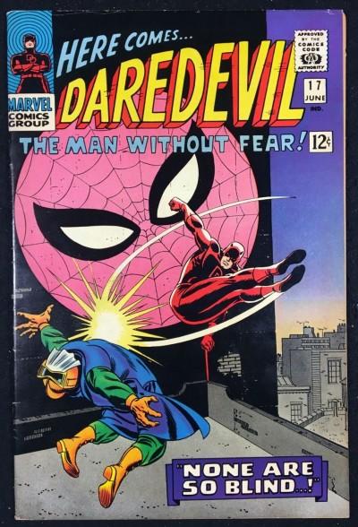 Daredevil (1964) #17 FN/VF (7.0) 2nd Romita Spider-Man