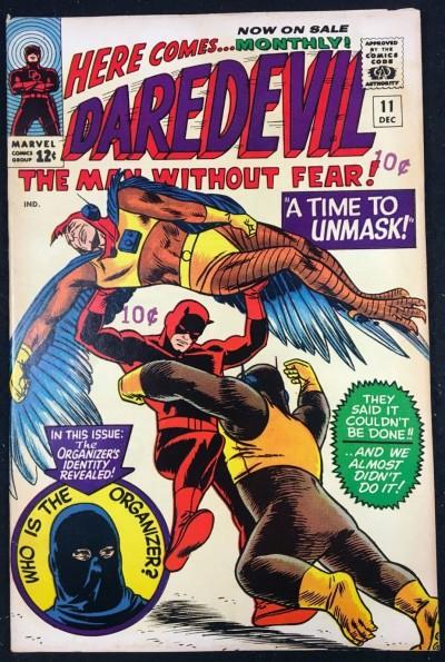 Daredevil (1964) #11 FN+ (6.5) Organizer app