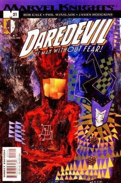 DAREDEVIL (1998) #21 VF/NM DAVID MACK COVER