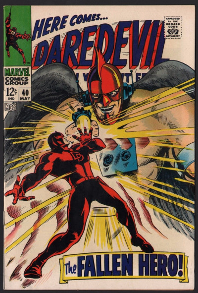 Daredevil (1964) # 40 VF- (7.5) vs The Organization Cat-Man Bird-Man Ape-Man