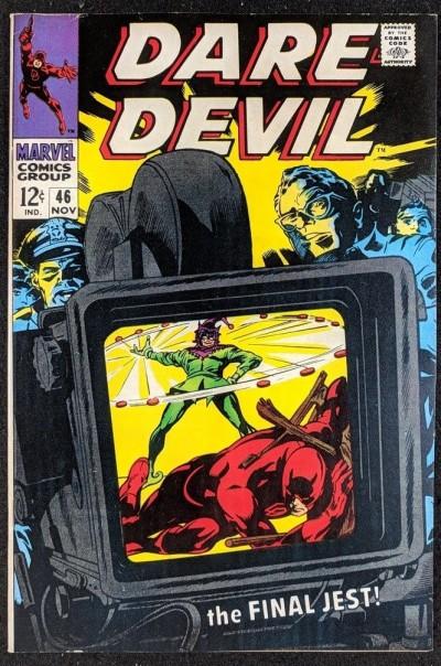 Daredevil (1964) #46 VF (8.0)  vs Jester