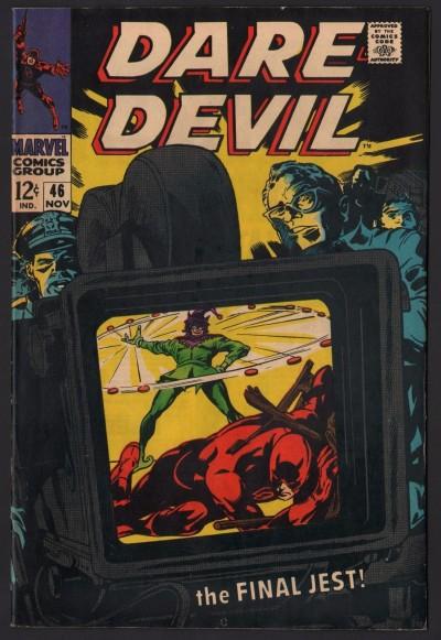 Daredevil (1964) # 46 FN/VF (7.0) Jester appearance Gene Colan art