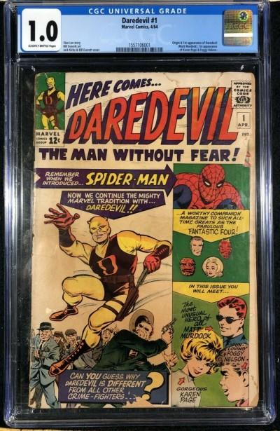 Daredevil (1964) #1 CGC 1.0 1st app Daredevil (1557106001)