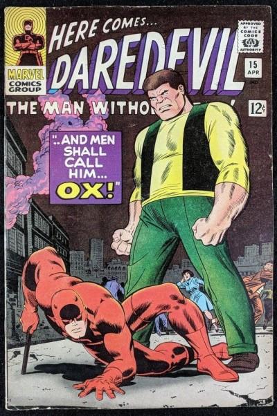 Daredevil (1964) #15 FN- (5.5) 1st app OX   John Romita art