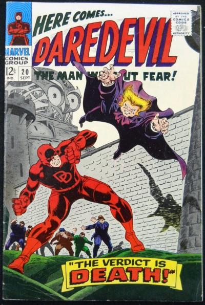 DAREDEVIL #20 VF- OWL APP