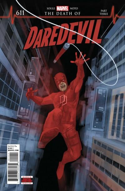"Daredevil (2015) #611 VF/NM ""The Death of Daredevil"" Part 3"