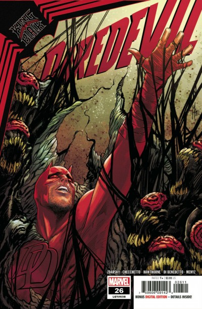 "Daredevil (2019) #26 VF/NM Marco Checchetto ""King in Black"" Elektra"