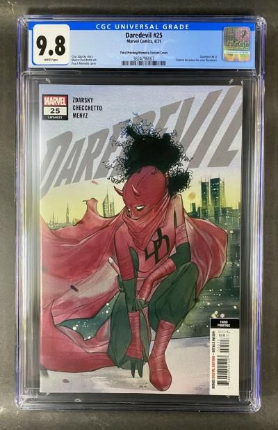 Daredevil (2019) #25 CGC 9.8 Graded 3rd Print MoMoko Variant Cover (3824796007)