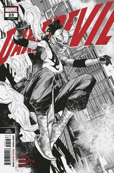 Daredevil (2019) #25 VF/NM 3rd Printing Sketch Variant Elektra Daredevil