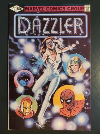 DAZZLER #1 (1981) NM- 9.2 1st solo series high grade bronze|