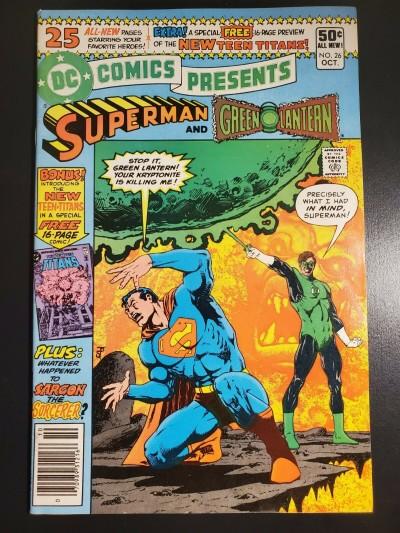 DC Comics Presents # 26 (1980) F/VF Newsstand 1st Appearance New Teen Titans |