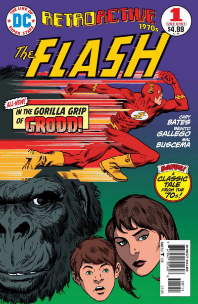 DC RETROACTIVE 1970's FLASH #1 VF/NM ONE-SHOT