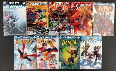 DC Universe #1 One-Shot Rebirth Lot of 67 Assorted Books Batman Flash GLGA WW