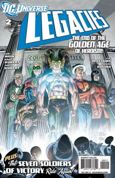 DC UNIVERSE LEGACIES #2 NM