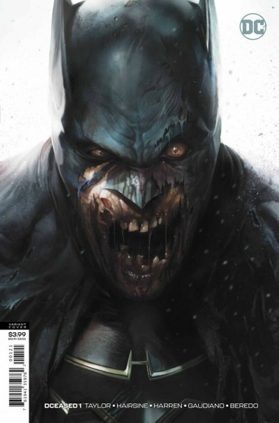 DCeased (2019) #1 VF/NM Francesco Mattina Batman Zombie Variant Cover