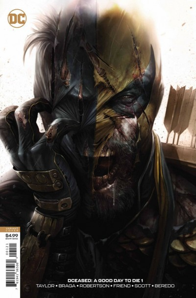 DCeased A Good Day To Die (2019) #1 VF/NM Francesco Mattina Zombie Variant Cover