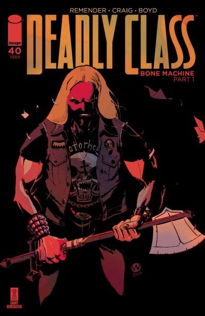 Deadly Class (2014) #40 VF/NM Wes Craig Cover A Image Comics