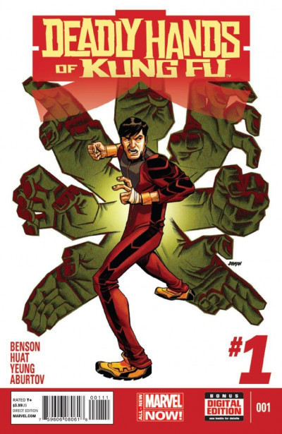 DEADLY HANDS OF KUNG-FU (2014) #1 VF/NM MARVEL NOW!