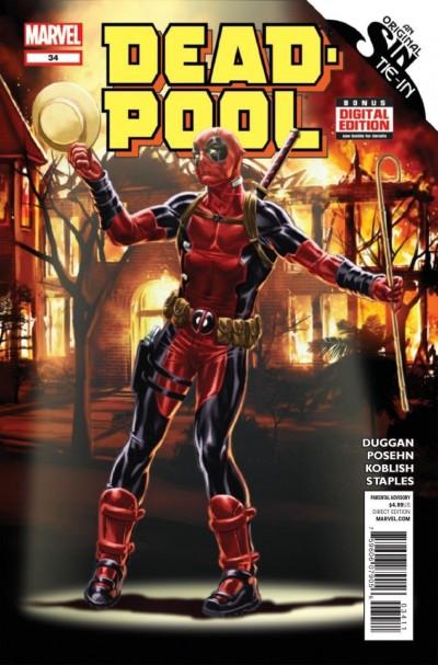 DEADPOOL (2012) #34 VF/NM REGULAR COVER MARVEL NOW